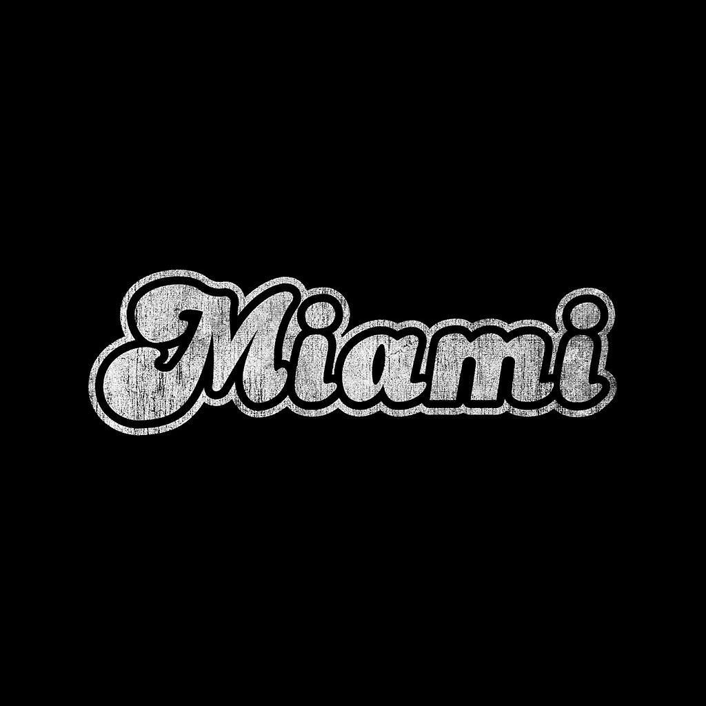 Miami 70s Font Kid's Varsity Jacket