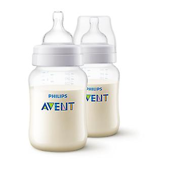 Philips Avent Classic+ 2 Wide-Neck Baby Bottles 260ml