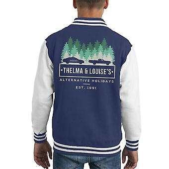 Thelma und Louises Alternativurlaub Kid Varsity Jacket
