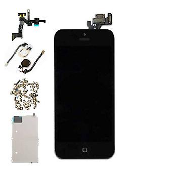 Stuff Certified® iPhone 5 voorgemonteerde scherm (Touchscreen + LCD + onderdelen) AA + kwaliteit - zwart