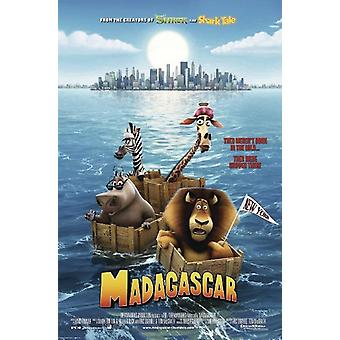 Madagascar Poster  They weren`t born in the wild...they were shipped there