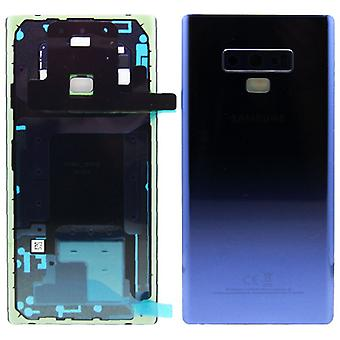 Samsung GH82-16920B battery cover cover for Galaxy note 9 N960F + adhesive tape Blau Ocean Blue new