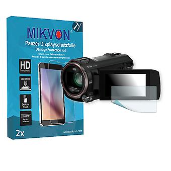 Panasonic HC-V777 Screen Protector - Mikvon Armor Screen Protector (Retail Package with accessories)