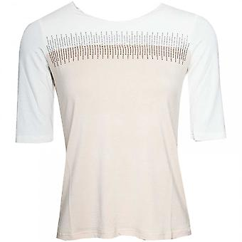 Passioni Half Sleeve 2 Tone T-shirt