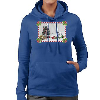 Ursprungliga Stormtrooper Christmas Tree Sockertopp Skjut Women's Hooded Sweatshirt
