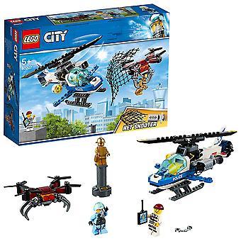 LEGO City 60207 Polizei Himmel Polizei-Drohne Chase setzen Hubschrauber und Drohnen