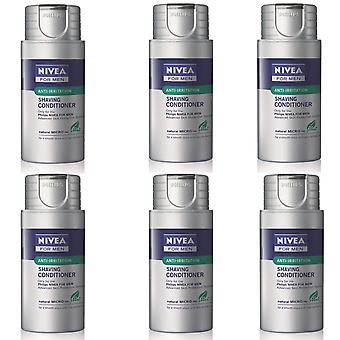 Philips HS800/04 Nivea For Men feuchtigkeitsspendende Anti-Irritation rasieren Balsam Conditioner - 6 Packungen