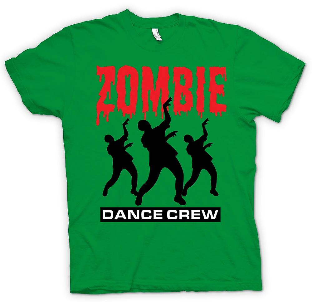 Mens T-shirt - Zombie Dance Crew - witzige Horror