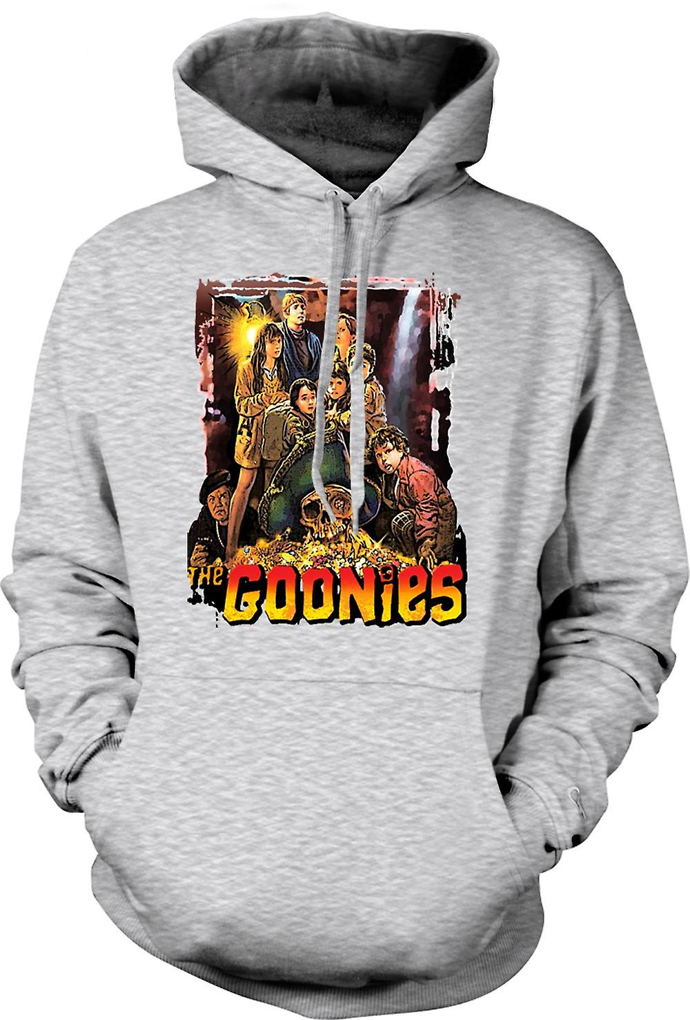 Mens Hoodie - The Goonies Treasure - Movie