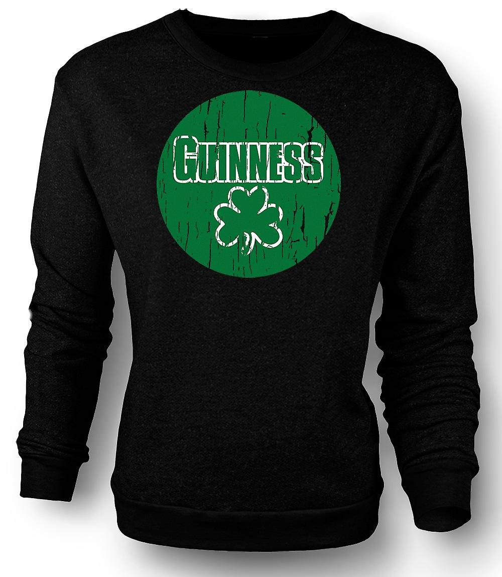 Mens felpa St Patricks Day Guinness irlandese