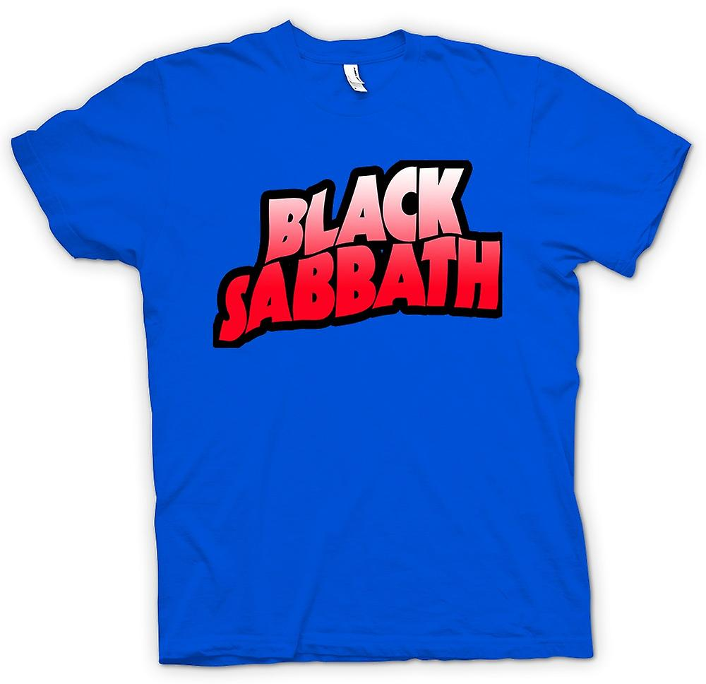 Heren T-shirt - Sabbat - Heavy Metal Logo