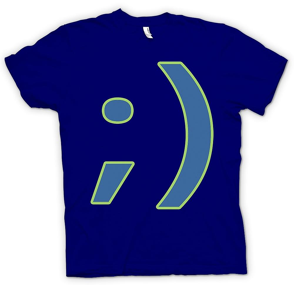 Mens T-shirt - Smiley - Funny