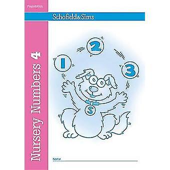 Nursery Numbers Book 4 by Sally Johnson - 9780721708706 Book