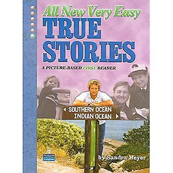 All New Very Easy True Stories: A Picture Based First Reader