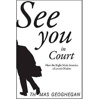 Ci vediamo IN Tribunale: Come il diritto fatto America una nazione di querela