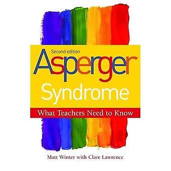 Syndrome d'Asperger - ce que les enseignants doivent savoir