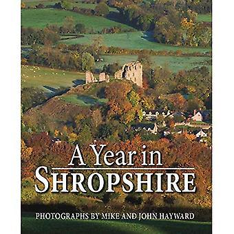 A Year in Shropshire (Hardback)