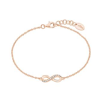 s.Oliver jewel ladies Bangle silver Rosé Infinity 2024290