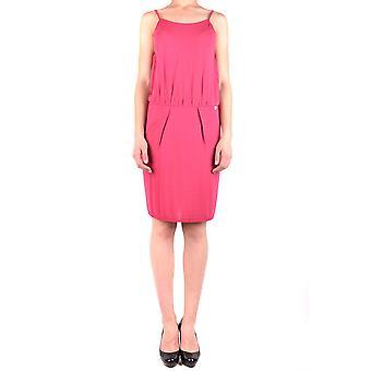 Liu Jo Fuchsia Acrylic Dress