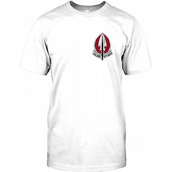 USASOAC Special Operations Aviation - Chest Logo Kids T Shirt