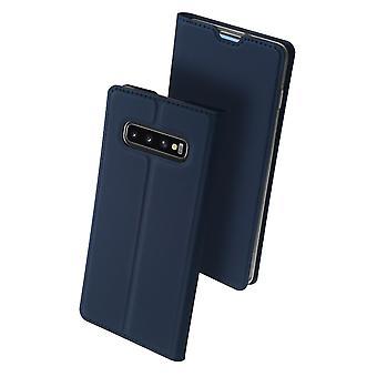 DUX DUCIS Pro Series pouch Samsung Galaxy S10 + dark blue