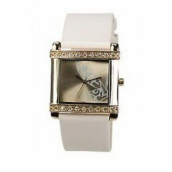 Playboy Rosa Leder Armband Damen Designermode Watch PB0264RS