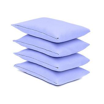 Lila algodón Pack de 4 malabares bolsas de frijoles para jugar al aire libre