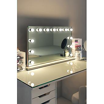 Diamond X Table Top Hollywood make-up spiegel met dimbare LED k91sLED