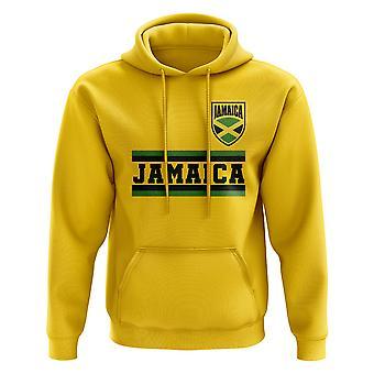 Jamaica Core Football Country Hoody (Yellow)