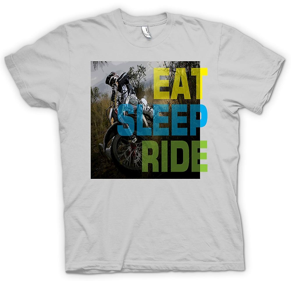 Mens T-shirt - Offroad Motocross - Eat Sleep Ride