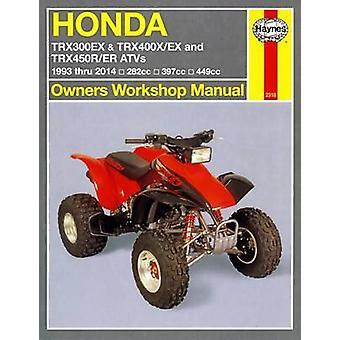 Honda TRX/EX/R/ER Automotive Repair Manual - 1993-2014 by Mike Stubble