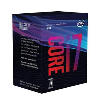 Intel Core I7-8700-CPU, 1151, 3,2 GHz (4,6 Turbo), 6-Core, 65W, 14nm, 12MB Cache, UHD GFX, 8 GT/s, Kaffee-See
