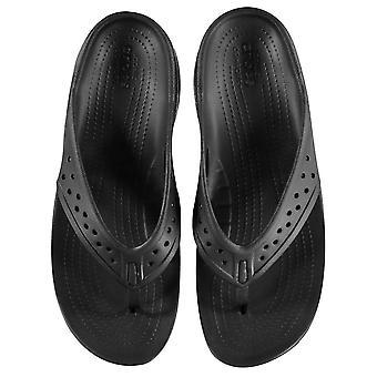 Crocs Womens Ladies Swift Deckflip Beach sommarskor flip flops