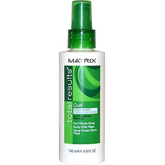 Matrix totale resultaten Curl losse golven Surf golven Spray 145ml Anti Frizz Nutri-Curl Tech