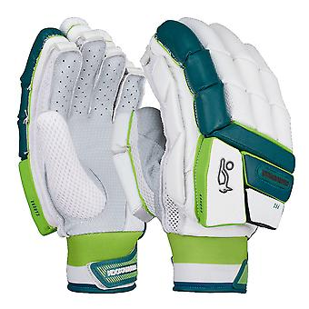 Kookaburra 2019 Kahuna Pro Cricket Batting Gloves White/Blue/Green