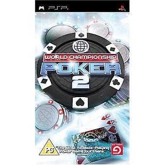 Championnat du Monde Poker 2 (PSP) - Usine scellée
