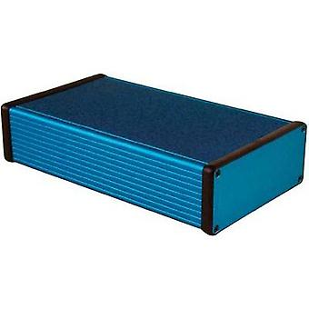 Universal enclosure 220 x 125 x 51.5 Aluminium Blue Hammond Electronics 1455Q2201BU 1 pc(s)