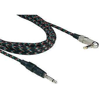 Paccs 6.3 mm Jack Instrument cable 6 m Multi-colour Stereo jack 6.3 mm