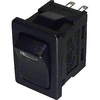 Toggle switch 250 Vac 6 A 1 x Off/On SCI R13-66L-0