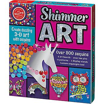 Shimmer Art Book Kit- K590650