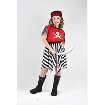 Guirca Girls Pirate Costume Child Size 4-6 years (Enfants , Jouets , Déguisements)