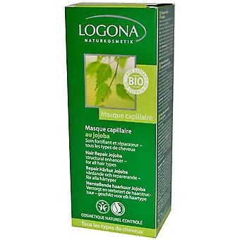 Logona Restorative Hair Mask Jojoba (Vrouwen , Capillair , Conditioners & Maskers)