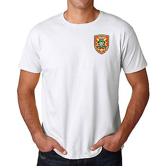 US Advisor Vietnam MACV-SOG Insignia - Embroidered Logo - Ringspun Cotton T Shirt