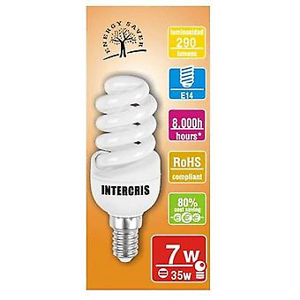 Intercris Saving bulb 7w 8000h019 (Home , Lighting , Light bulbs and pipes)