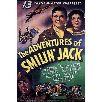 Las aventuras de Smilin gato Movie Poster Print (27 x 40)