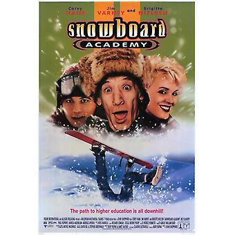 Snowboard Academy Movie Poster (11 x 17)