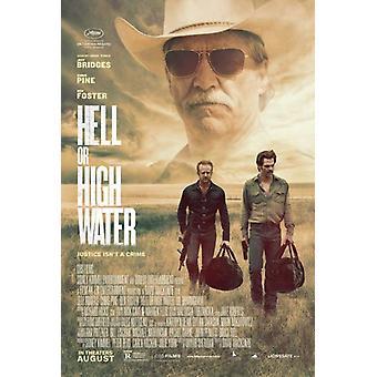 Helvete eller høyt vann film plakat (27 x 40)