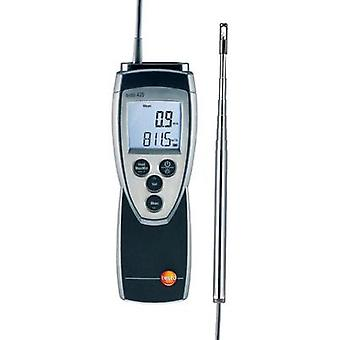 Anemometer testo 425 0 up to 20 m/s Hot wire sensor Calibrated to Manufacturer standards