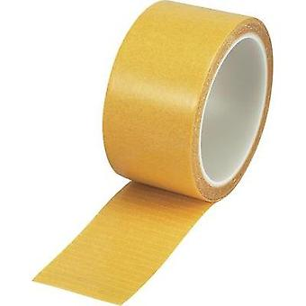 Double sided adhesive tape Conrad Components Clear (L x W) 10 m x 50 mm Content: 1 Rolls
