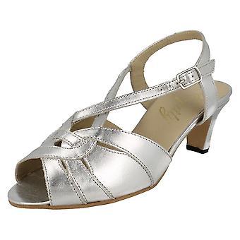 Damer Equity smarte Peep Toe Slingback sandaler Sarah